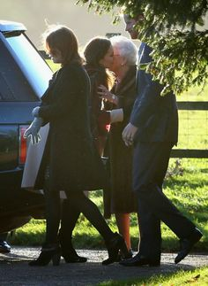 25 DECEMBER 2013 British Royal Family Attend Christmas Day Service at Sandringham Members of the British Royal Family attended two Christmas Day service at Sandringham in King's Lynn, England.