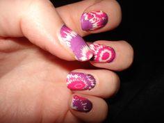 Nails by Liana using Salon Effects - Tye Dye