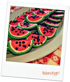 Watermelon Cookies from The Reeds at Shelter Haven's Reeds n Seeds Event