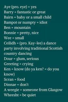 Schottisch lernen