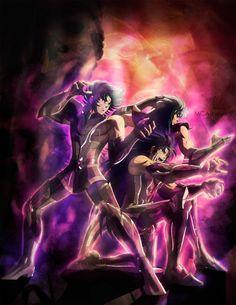 Capricorn Shura | Gemini Saga | Aquarius Camus