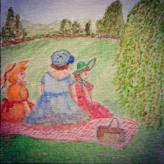 Las hermanas Austen han salido de #picnic