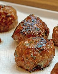 Spicy Pork Meatballs from Rachel Yang of Joule in Seattle