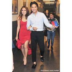 This is the pretty Kathryn Bernardo and the handsome Daniel Padilla smiling for the camera and having fun backstage as they prepare for the Grand Finale of ASAP Live in New York at the Barclays Center last September 3, 2016. Indeed, the ASAP Kapamilya cast did a good job, and ASAP is indeed the number 1 musical variety show in the Philippines. ASAP rocks, indeed! :-) #KathrynBernardo #DanielPadilla #KathNiel #KathNielBernadilla #BarcelonaALoveUntold #ASAPLiveinNewYork