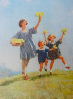 Welcome spring by Percy Tarrant
