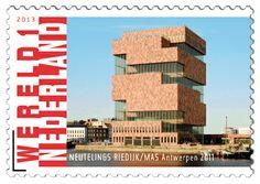 Grenzeloos Nederland - Belgie 2013 Architectuur - Neutelings Riedijk/ MAS Antwerpen 2011