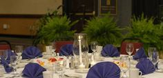 Embassy Suites Montgomery - Hotel & Conference Center, Al - Table Setup For Dinner