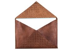 """Newman Gridline, Whiskey 13""""  85  ...  Designed to fit a 13"""" Macbook Air, a portfolio, or miscellaneous items, the Newman envelope is one sleek carrier. It's crafted from pure, supple leather."""