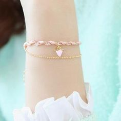Buy 'soo n soo – Braided Double-String Bracelet' with Free International Shipping at YesStyle.com. Browse and shop for thousands of Asian fashion items from South Korea and more!