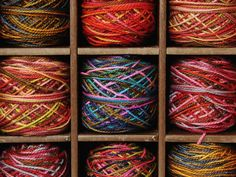 This is my customized Chrome background. Love me some yarn.