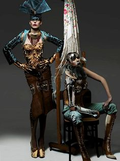 Xtreme Future Couture by Manuel Albarrán & Jose It Spain