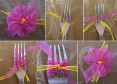 Make this Cute Little Bow Using a Fork