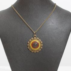 Vintage Button Pendant by CarolsThreads on Etsy,