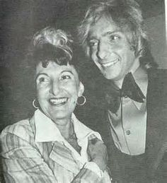 Edna Manilow Pincus Murphy and her son Barry Manilow.