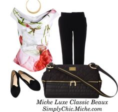 March 2013 Miche Luxe Classic Beaux outfit_