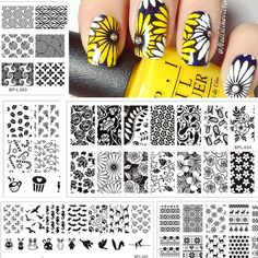 2016 Born Pretty Nail Stamping Plates Lace Flower Animal Pattern Nail Art Stamp Stamping Template Image Plate Stencil Nails Tool [Affiliate]