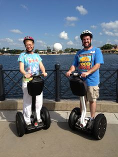 "Epcots ""Keep Moving Forward"" Segway tour review!!!"