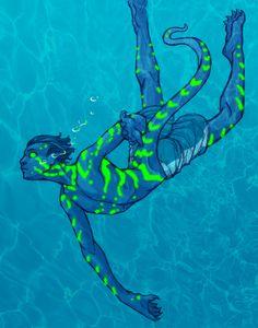 Epode Diving by VividAnima on DeviantArt