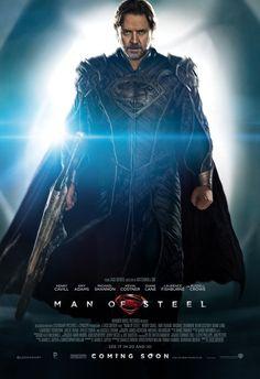 After Les Mis, Russell Crowe seriously redeemed himself as Jor El. So. Frick'in. Boss.