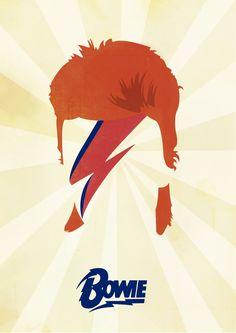 David Bowie / Aladdin Sane on Behance