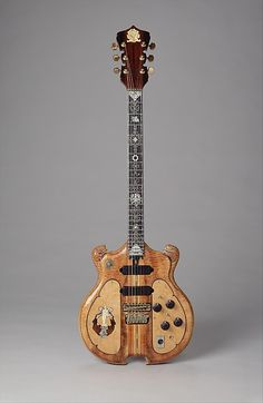 Guitar. Bruce BecVar (born 1953). Date: 1973–74 Geography: Cotati, California, United States Medium: Wood, other materials