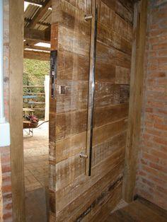 porta pivotante madeira de demolição arquiteto são paulo : IMPERIUM ...