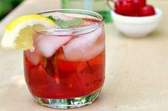 Fun twists on Kentucky Derby Cocktails.   Cherry julep , Mint julep margarita and High tea cocktail