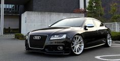 Audi S5 sedan (not sold in the US)
