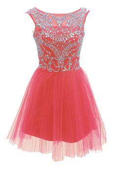 Burgundy Homecoming Dress,Pink Home