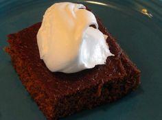 Old Fashioned Molasses Cake