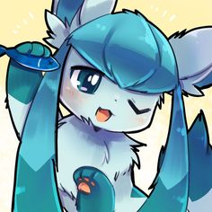 Extremely Cute Glaceon