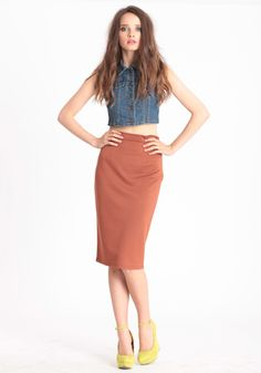 Sustained Composure Pencil Skirt 32.00     My butt would look amazing in this, just sayin'!