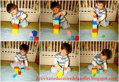 Activitati educative de la suflet la suflet: Dezvoltarea motricitatii fine pentru varsta 1 - 2 ani - idei de jocuri si activitati Montessori, Kids Rugs, Kid Friendly Rugs, Nursery Rugs