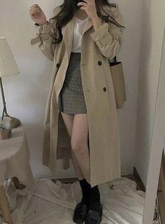 Korean Street Fashion - Life Is Fun Silo Korean Girl Fashion, Ulzzang Fashion, Korean Street Fashion, Kpop Fashion Outfits, Mode Outfits, Cute Fashion, Men Fashion, Kawaii Fashion, Korean Casual Fashion