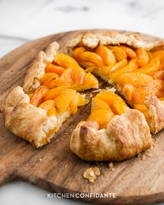 A recipe for Apricot Galette.