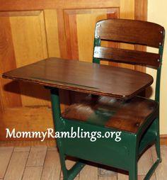 Vintage School Desk Project!!!