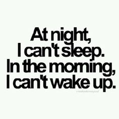 Story of my life. Remember to give me at least an hour to 'warm up' to talking in the morning.