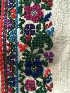Traditional Outfits, Old And New, Cross Stitching, Embroidery Stitches, Diy And Crafts, Folk, Elsa, Blanket, Crochet