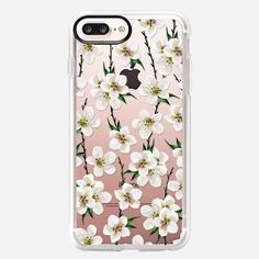 Shop the latest iPhone 7 Plus cases, covers and tech accessories at CASETiFY. Choose from a variety of products and a wide range of designer cases with your favorite style. Iphone 7 Plus Cases, Phone Cases, Latest Iphone, Tech Accessories, White Flowers, Branches, Green, Watercolor, Cases