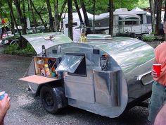 Hillside Car Show Teardrop Camper by mountain_man_ny_2, via Flickr