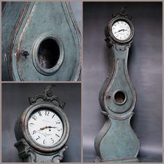 Mora clock circa 1820... Just purchased today from Cupboards & Roses in Sheffield, MA... Absolutely amazing store! Edith and her staff are terrific!