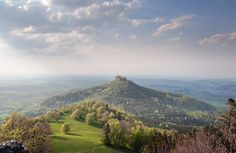 Hohenzollern Castle  Germany.  Such a great building to be built on such a high hill.  How?
