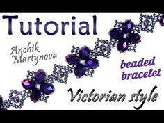 Tutorial: Victorian beaded bracelet