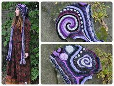 Of-Mars freeform crochet .