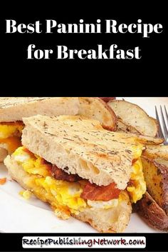 Yes that's right, you can make a Panini for breakfast! Just because a Panini makes a great lunch or snack does not mean you have to wait until lunchtime to make it, although this recipe would make a delicious lunch or even a light supper. Sometimes bacon and eggs is too tempting not to have, and combining your bacon and eggs with crunchy hot bread is sure to make any mouth water.