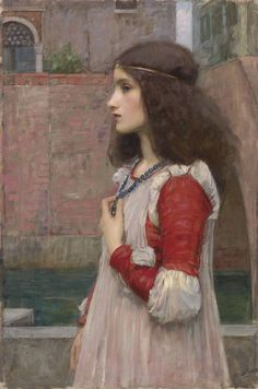 John William Waterhouse was not technically part of the pre-Raphaelite school, however his beautiful paintings draw heavily on many Pre-Raphaelite techniques. John William Waterhouse, Pre Raphaelite Paintings, John Everett Millais, Art Magique, Beautiful Paintings, Love Art, Art History, Art Photography, Art Gallery