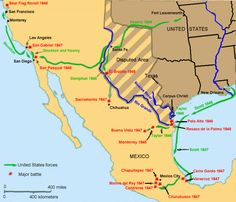 Mexican-American War… Chronology of Events