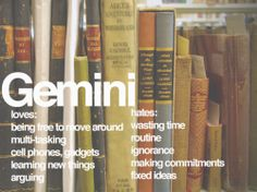 Gemini-some are very true for me!