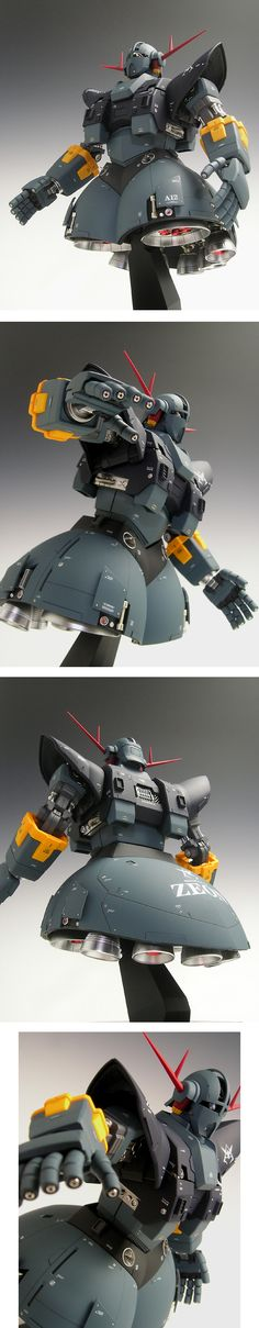 """[MSN-02 ZEONG ジオング]  One hell of a mobile suit; makes you want to shout out: """"SIEG ZEON!"""""""
