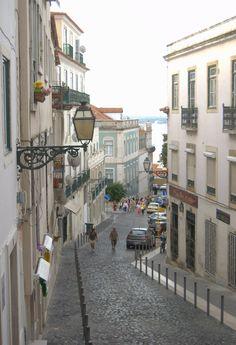 Street in Lisbon, Portugal